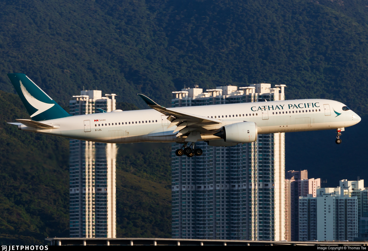 B-LRL - Airbus A350-941 - Cathay Pacific Airways