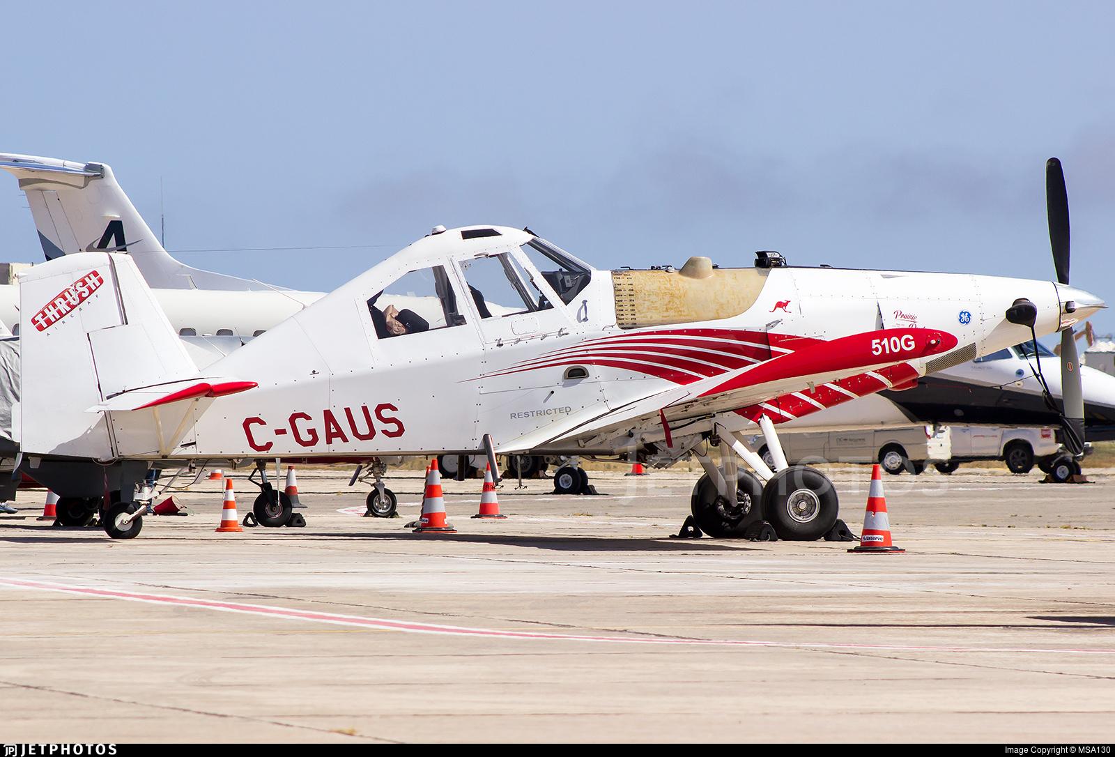 C-GAUS - Thrush Aircraft S2R-H80 - Prairie Dusters