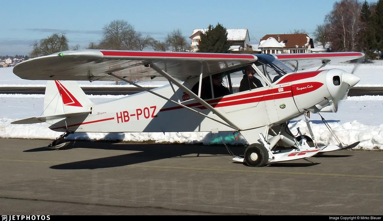 HB-POZ - Piper PA-18-150 Super Cub - Private