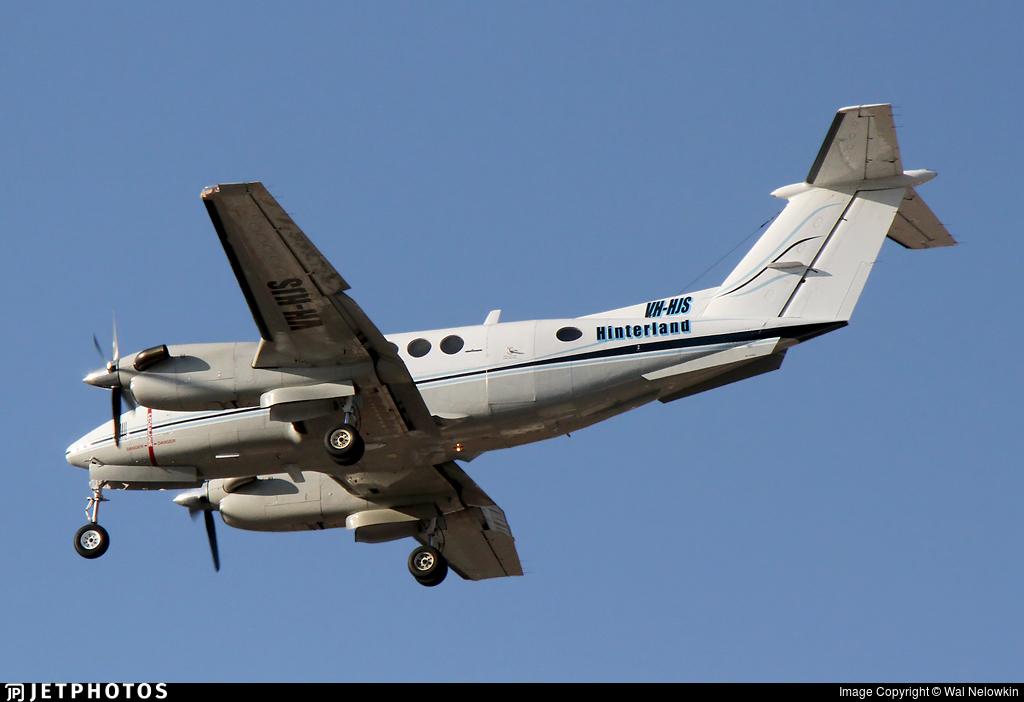 VH-HJS - Beechcraft B200 Super King Air - Hinterland Aviation