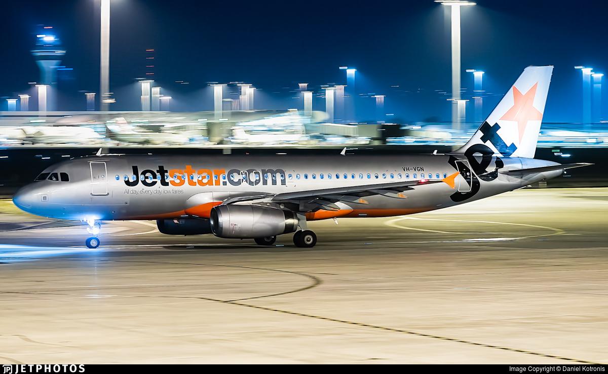 VH-VGN - Airbus A320-232 - Jetstar Airways