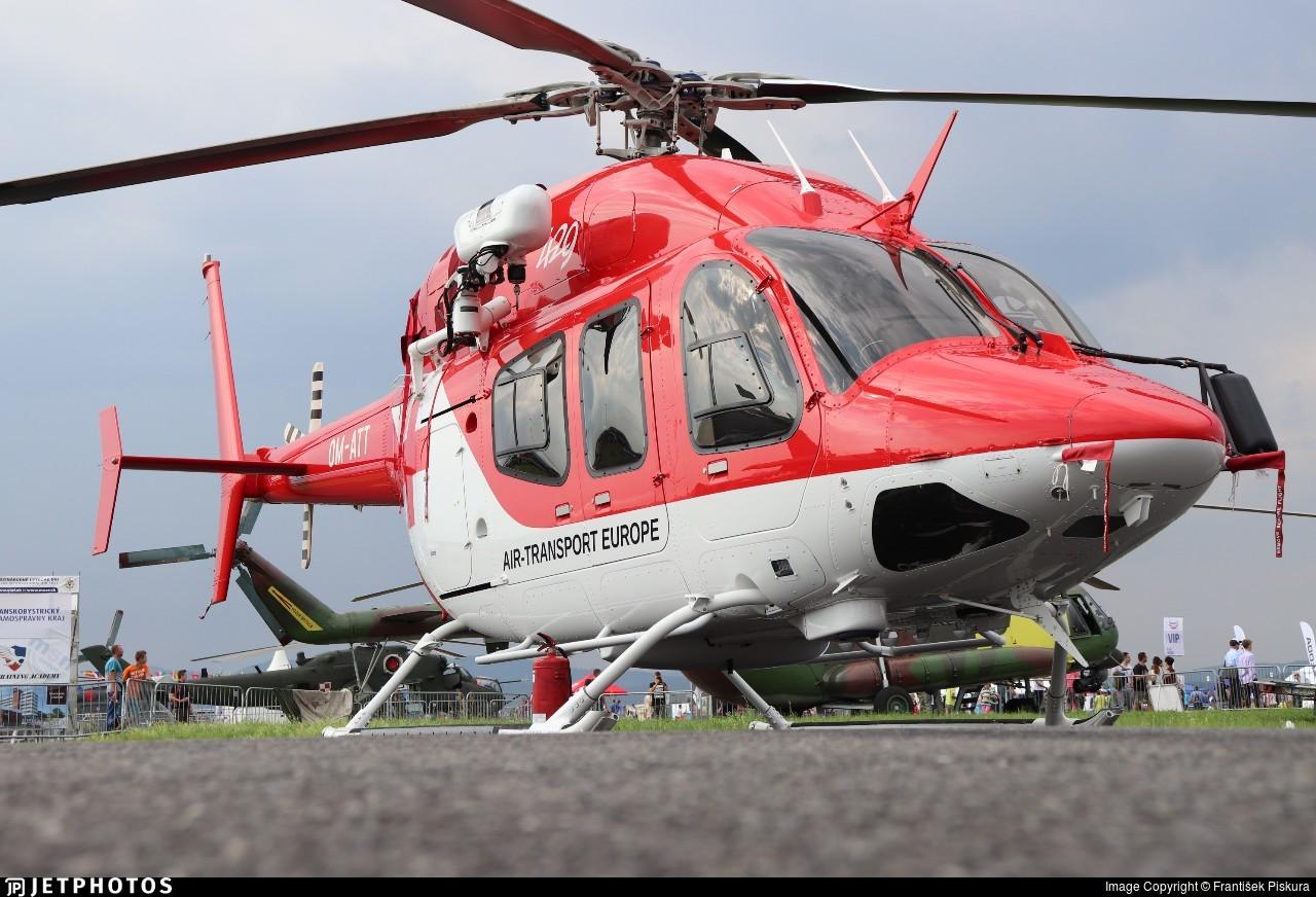 OM-ATT - Bell 429 - Air Transport Europe (ATE)