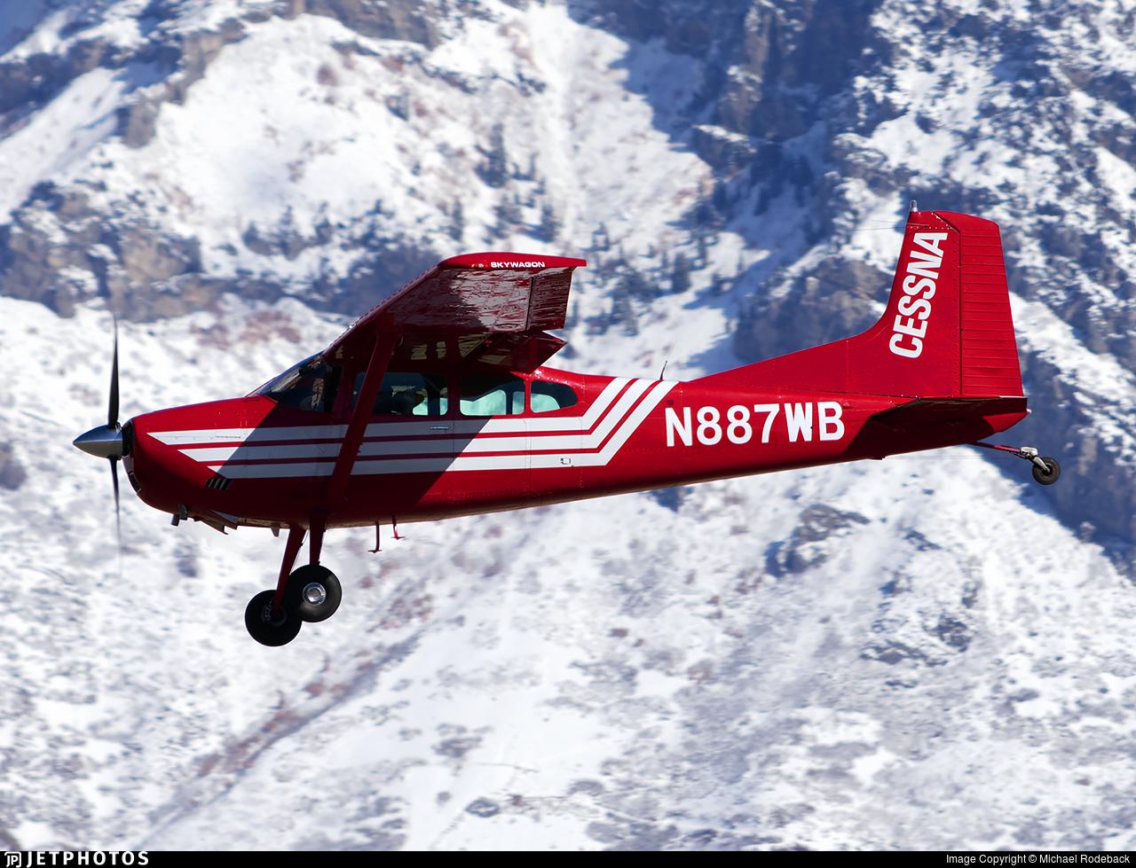 N887WB - Cessna A185F Skywagon - Private