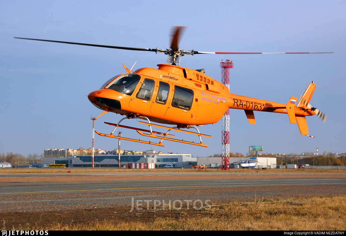 RA-01631 - Bell 407GXP - Omsk Flight Technical College of Civil Aviation of A.V. Lyapidevsky