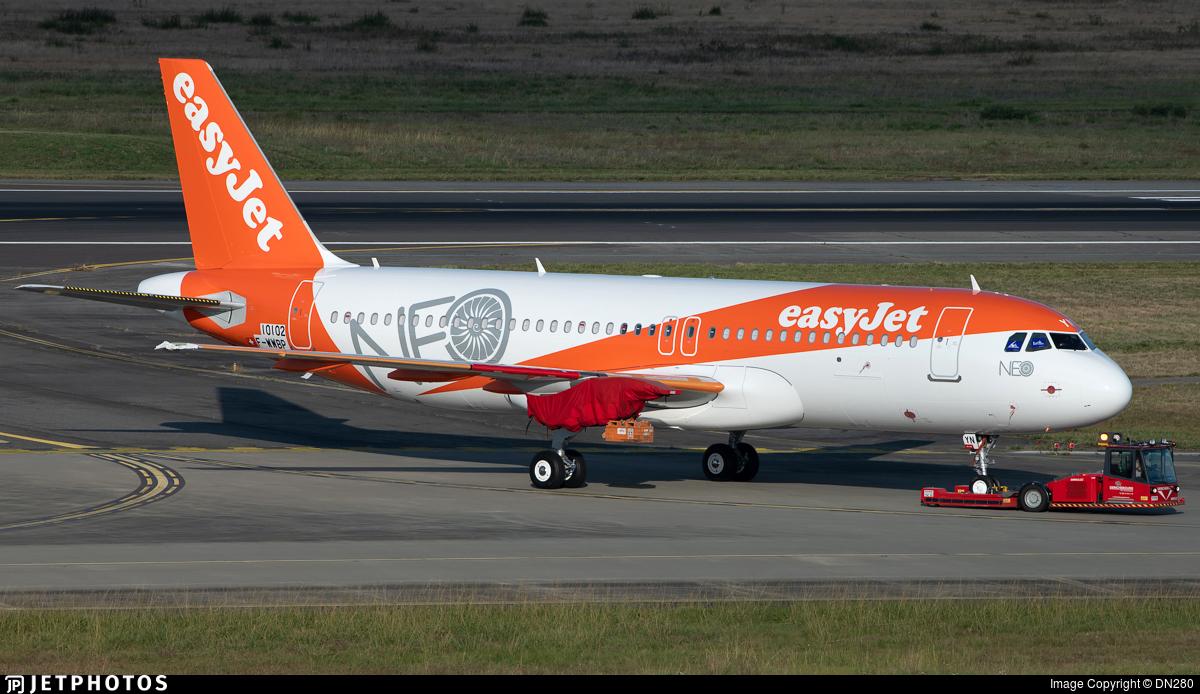 F-WWBP - Airbus A320-251N - easyJet Switzerland