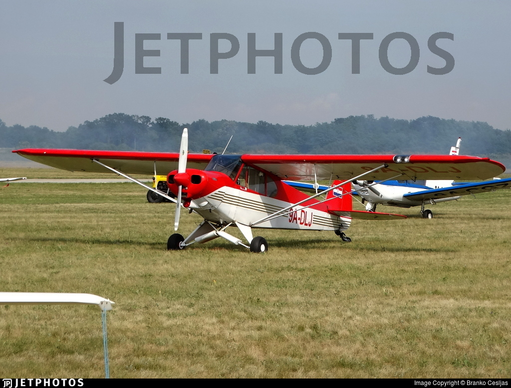 9A-DLJ - Piper PA-18-150 Super Cub - Private