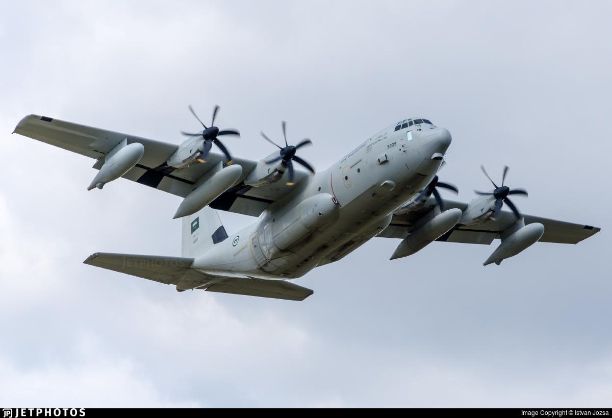 3209 - Lockheed Martin KC-130J Hercules - Saudi Arabia - Air Force