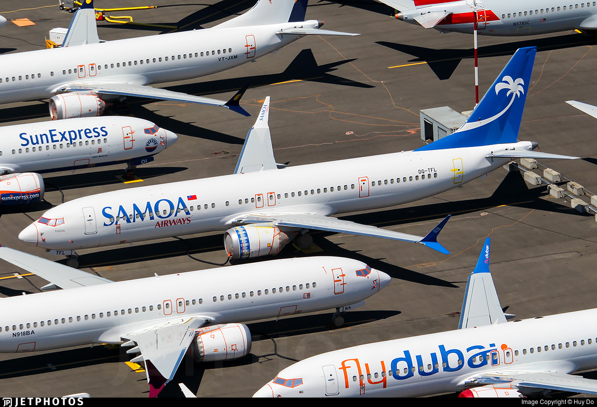DQ-TFL - Boeing 737-9 MAX - Samoa Airways