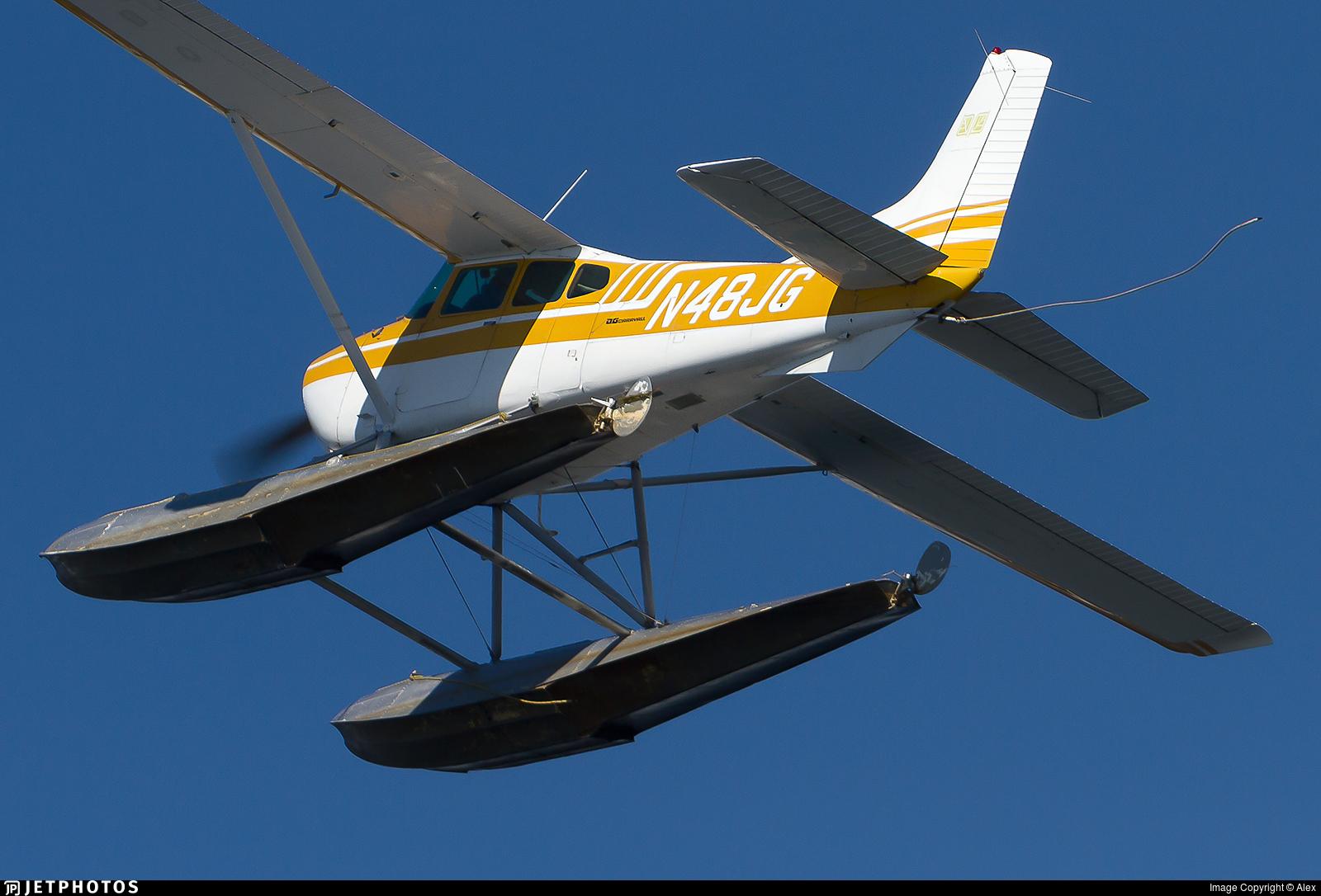 N48JG - Cessna A185F Skywagon - Private