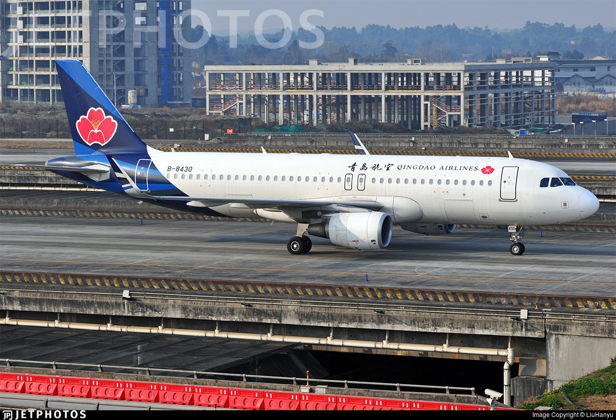 B-8430 - Airbus A320-214 - Qingdao Airlines