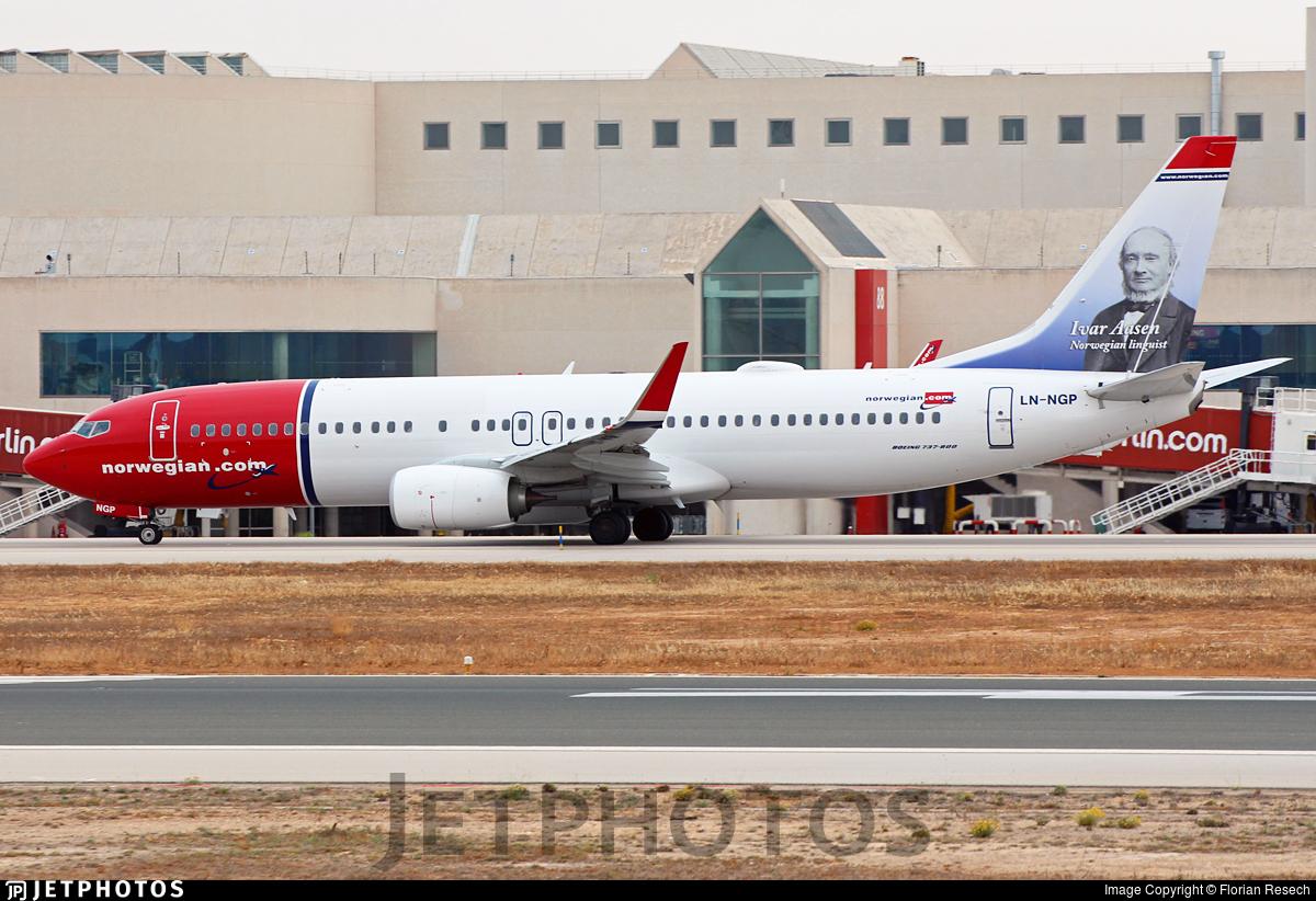 LN-NGP - Boeing 737-8JP - Norwegian