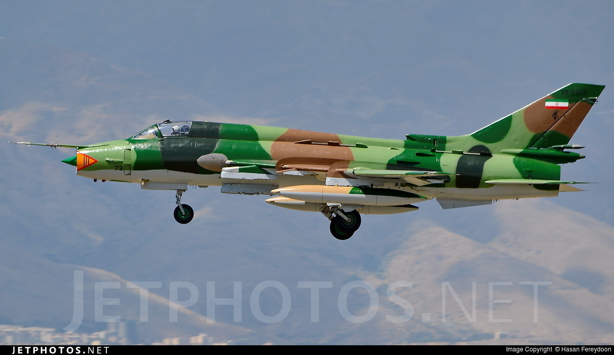 15-2473 - Sukhoi Su-22M4 Fitter K - Iran - Revolutionary Guard