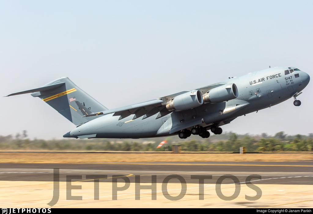 05-5147 - Boeing C-17A Globemaster III - United States - US Air Force (USAF)