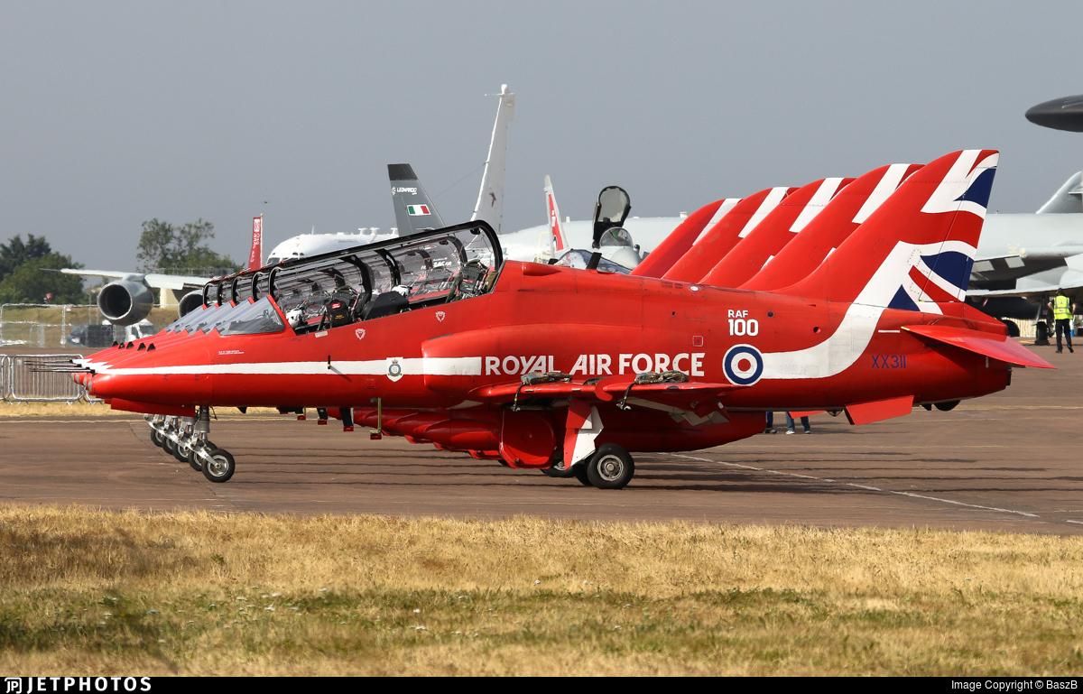 XX311 - British Aerospace Hawk T.1W - United Kingdom - Royal Air Force (RAF)