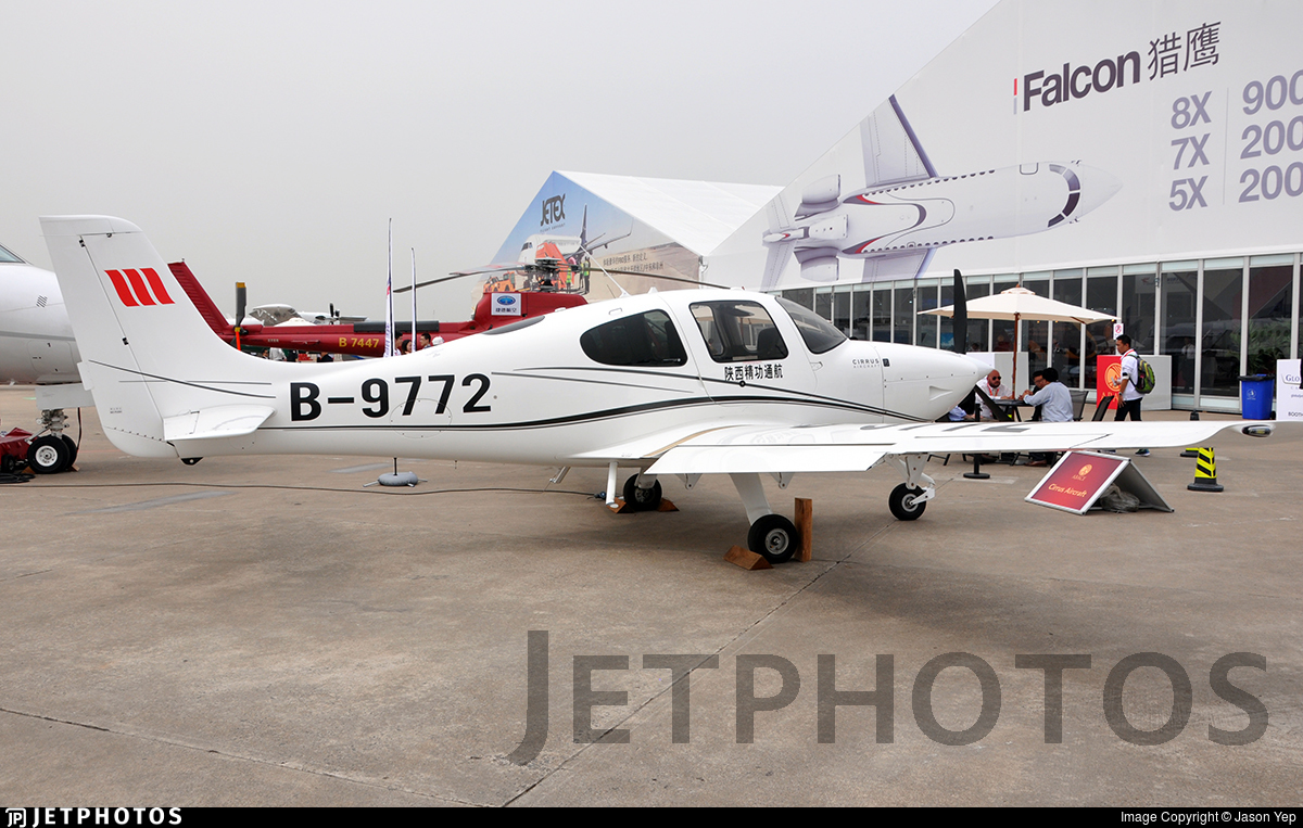 B-9772 - Cirrus SR20 - Shanxi Jinggong General Aviation