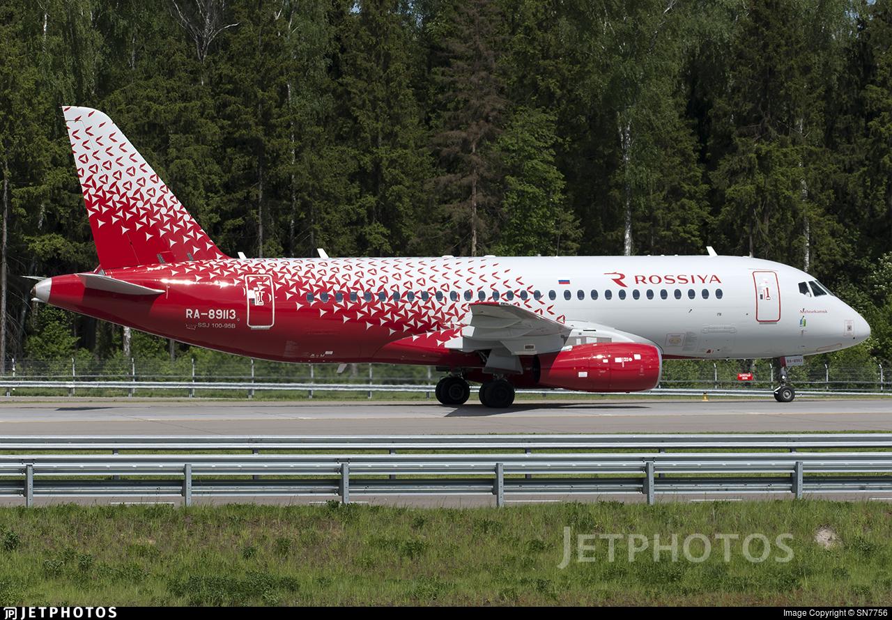 RA-89113 - Sukhoi Superjet 100-95B - Rossiya Airlines