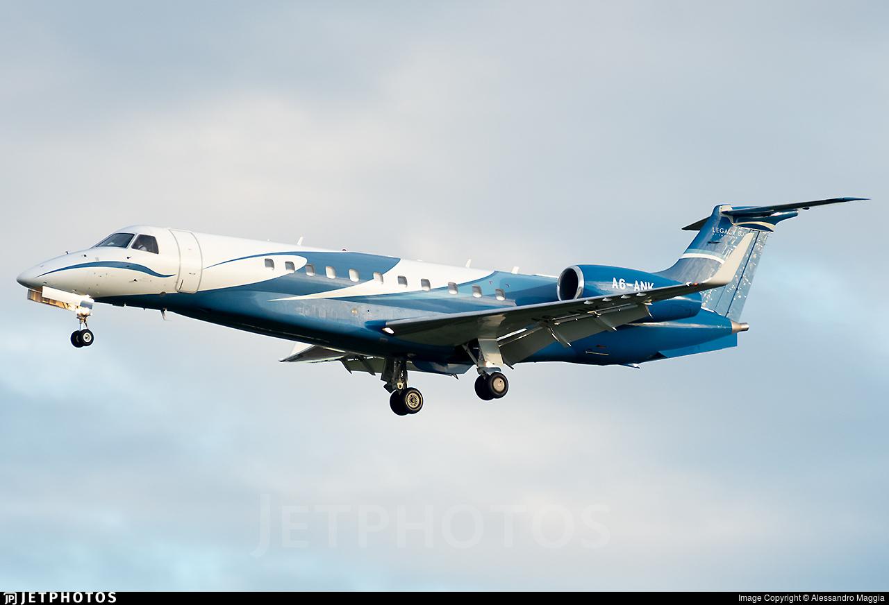 A6-ANK - Embraer ERJ-135BJ Legacy 600 - Gulf Wings