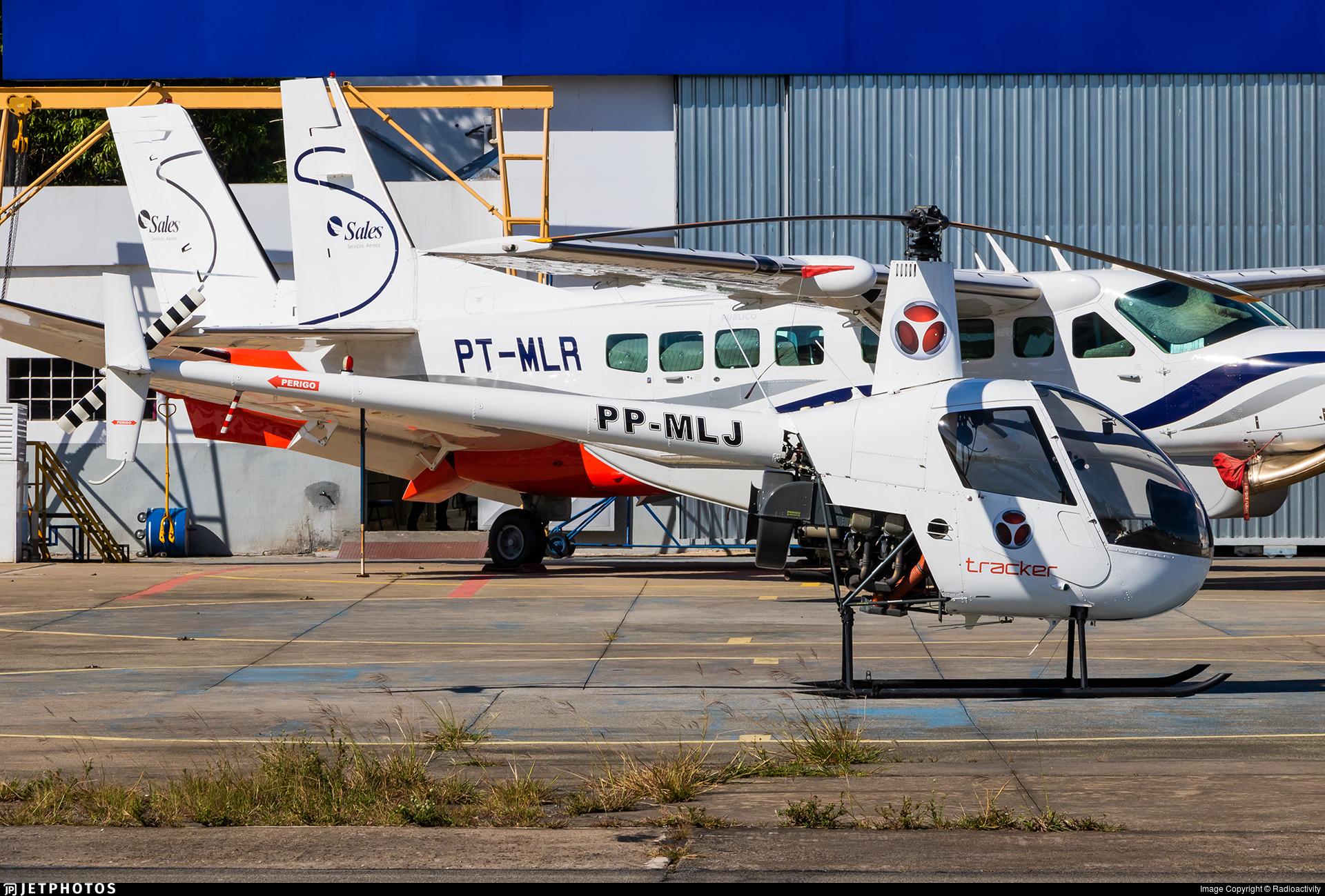 PP-MLJ - Robinson R22 - Private