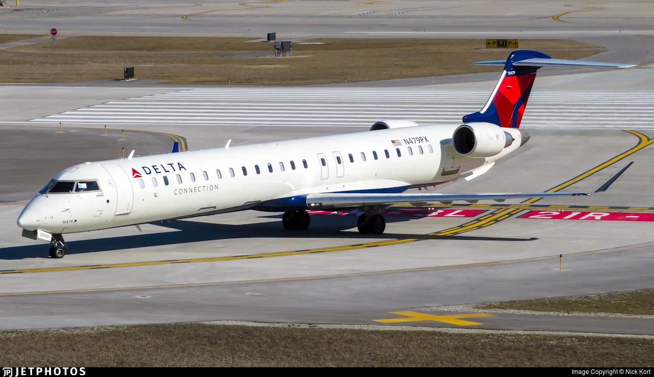 N479PX - Bombardier CRJ-900LR - Delta Connection (Endeavor Air)