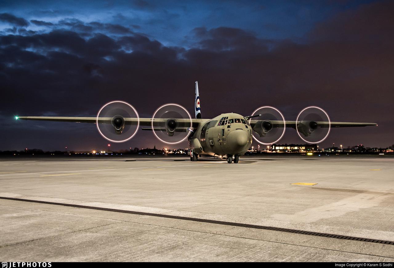 ZH883 - Lockheed Martin Hercules C.5 - United Kingdom - Royal Air Force (RAF)