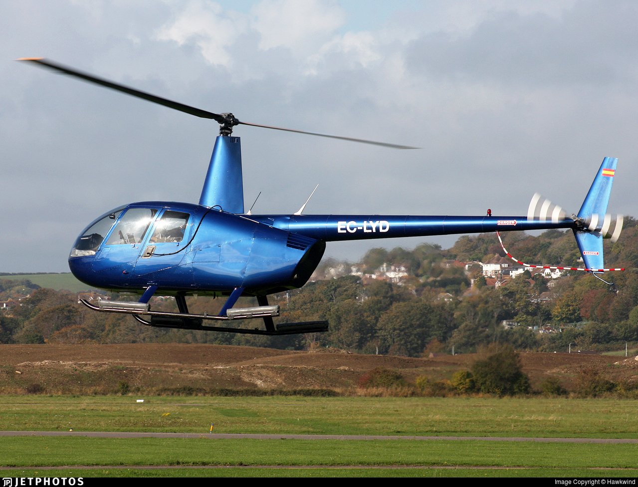 EC-LYD - Robinson R44 Raven II - Private