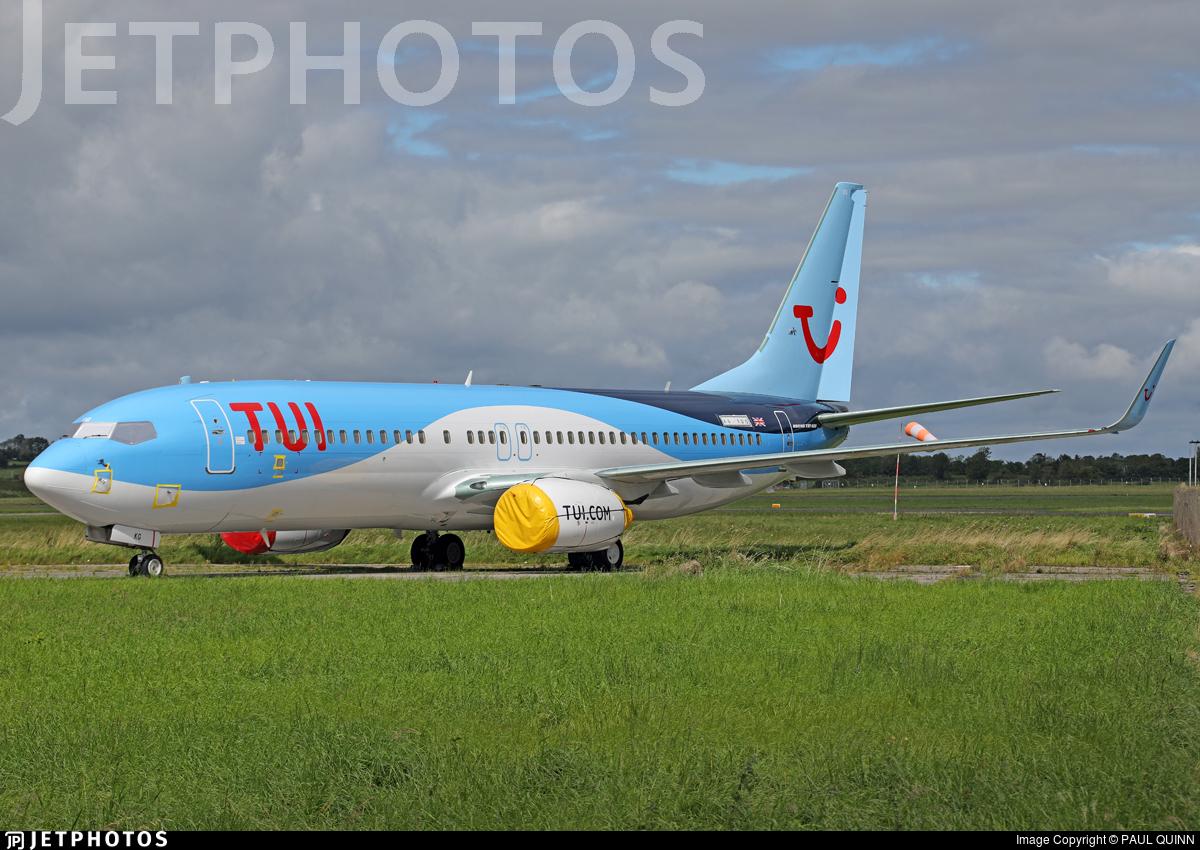 A6-FDG - Boeing 737-8KN - TUI