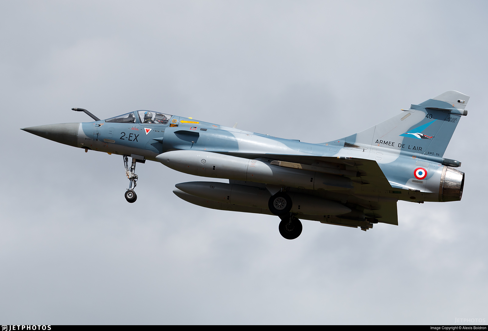 40 - Dassault Mirage 2000-5F - France - Air Force