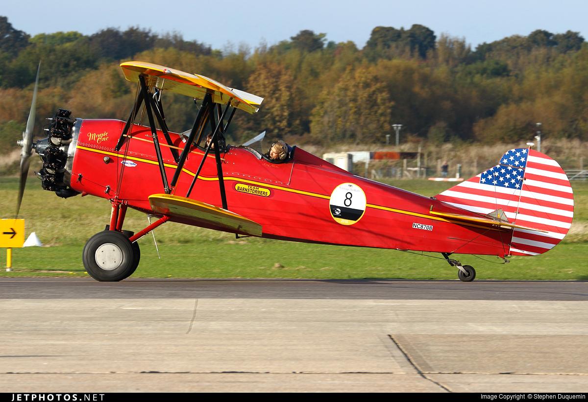 NC8708 - Curtiss-Wright Travel Air 4000 - Private