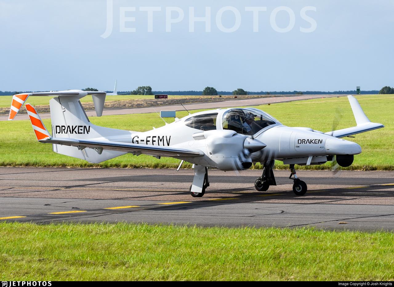 G-FFMV - Diamond DA-42 MNG - Draken Europe