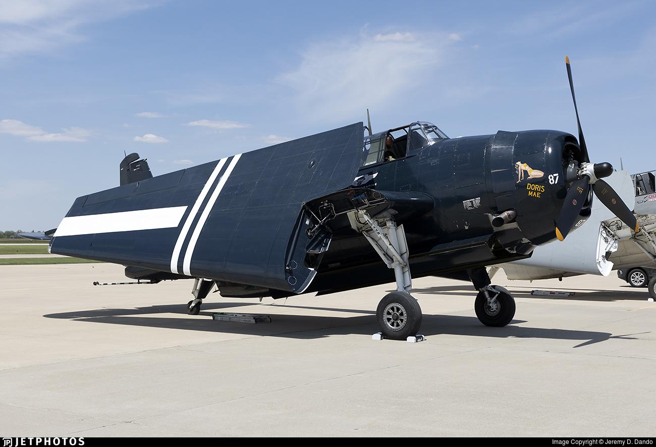 N40402 - Grumman TBM-3 Avenger - Commemorative Air Force