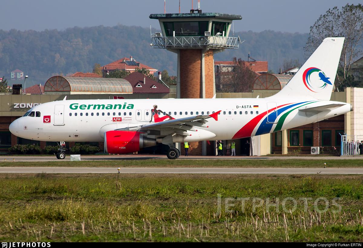 D-ASTA - Airbus A319-112 - Gambia Bird (Germania)