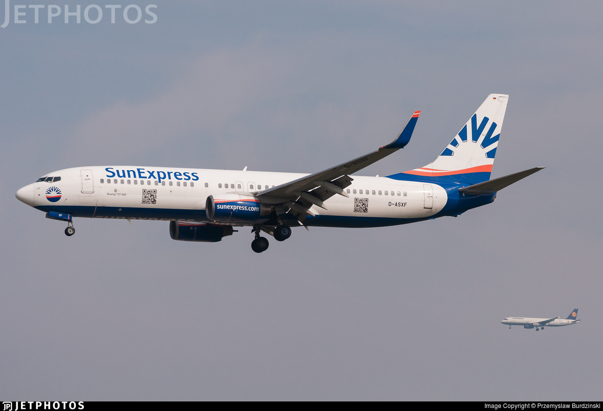 D-ASXF - Boeing 737-8AS - SunExpress Germany
