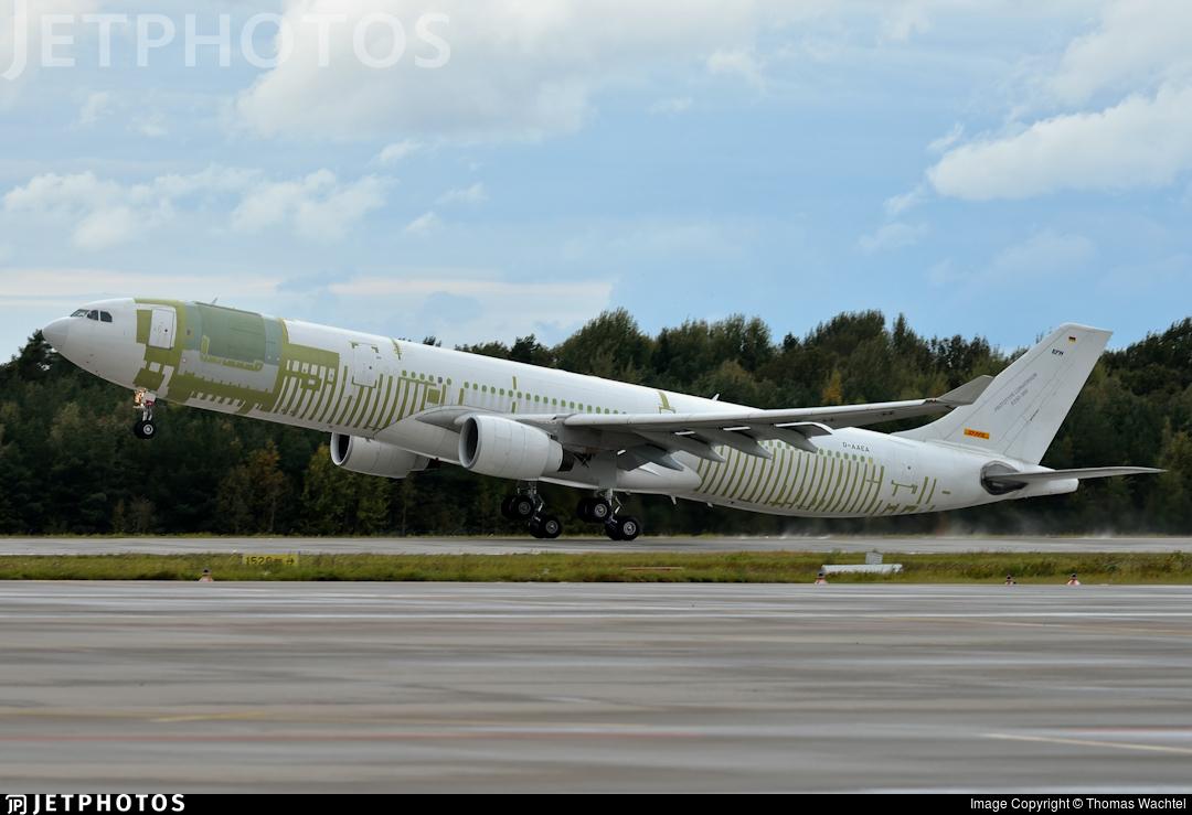 D-AAEA - Airbus A330-322P2F - DHL (European Air Transport)