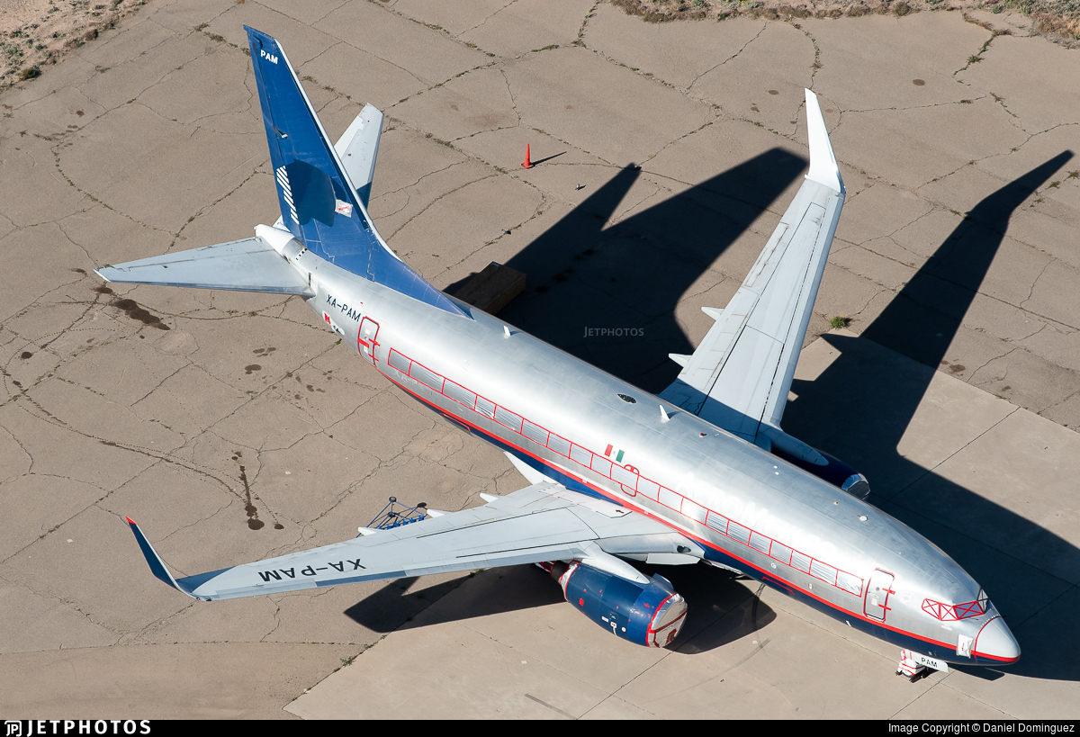 XA-PAM - Boeing 737-752 - Untitled