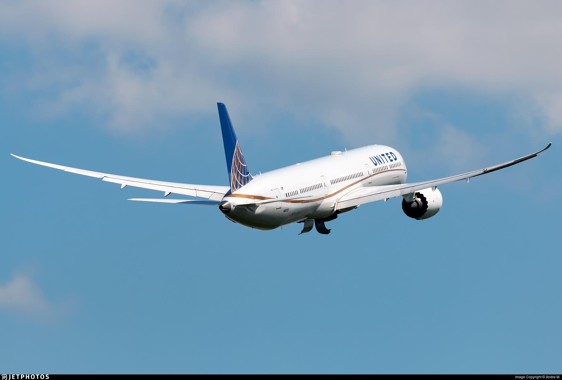N16008 - Boeing 787-10 Dreamliner - United Airlines