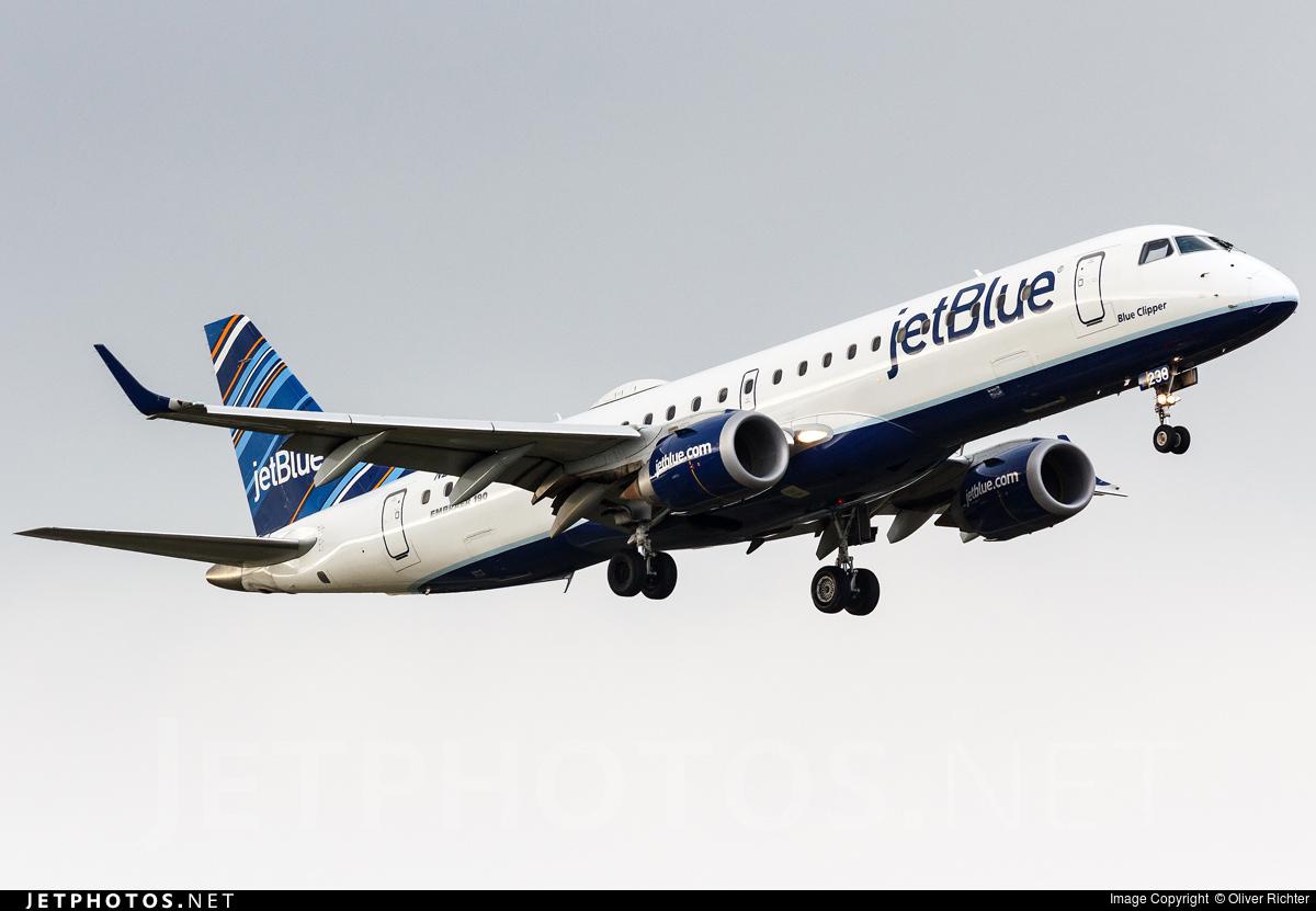 N238JB - Embraer 190-100IGW - jetBlue Airways