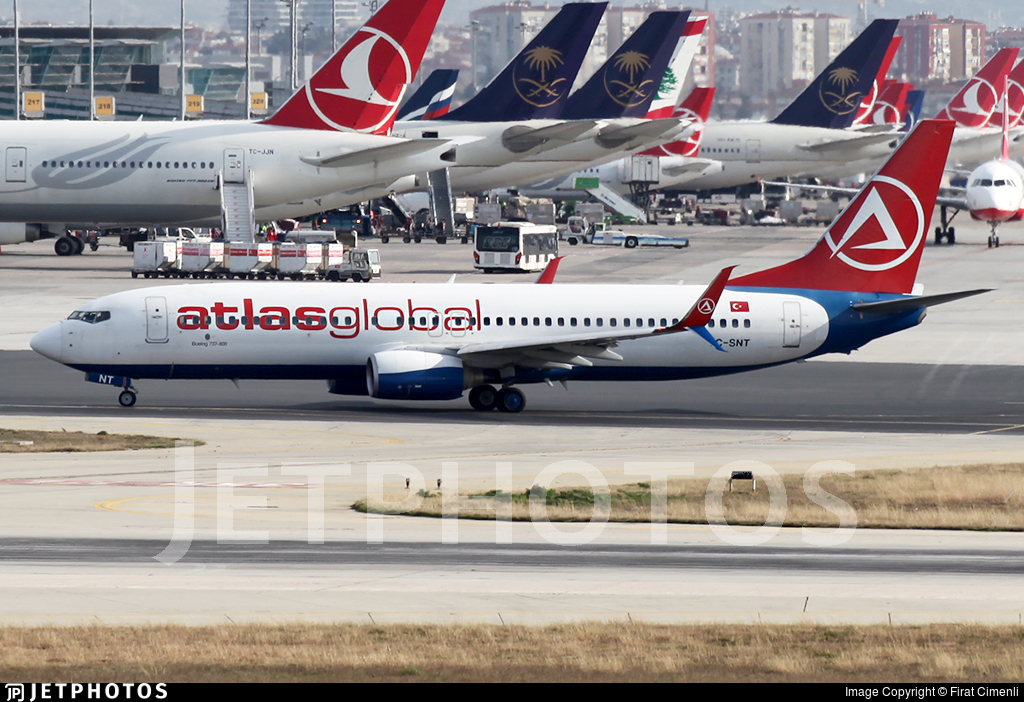 TC-SNT - Boeing 737-8HC - AtlasGlobal (SunExpress)