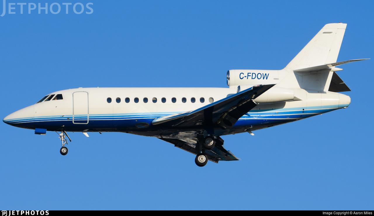 C-FDOW - Dassault Falcon 900 - Flightexec