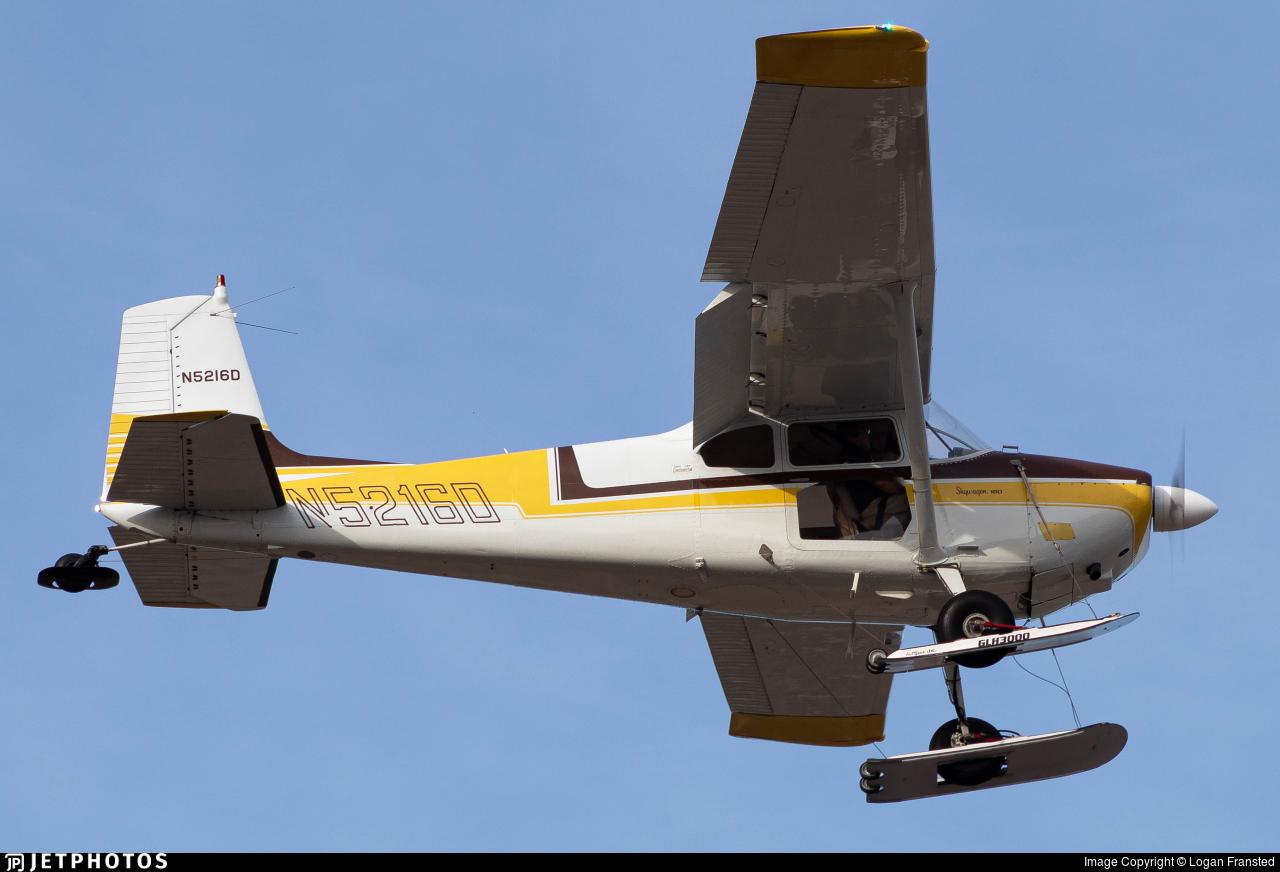 N5216D - Cessna 180A Skywagon - Private