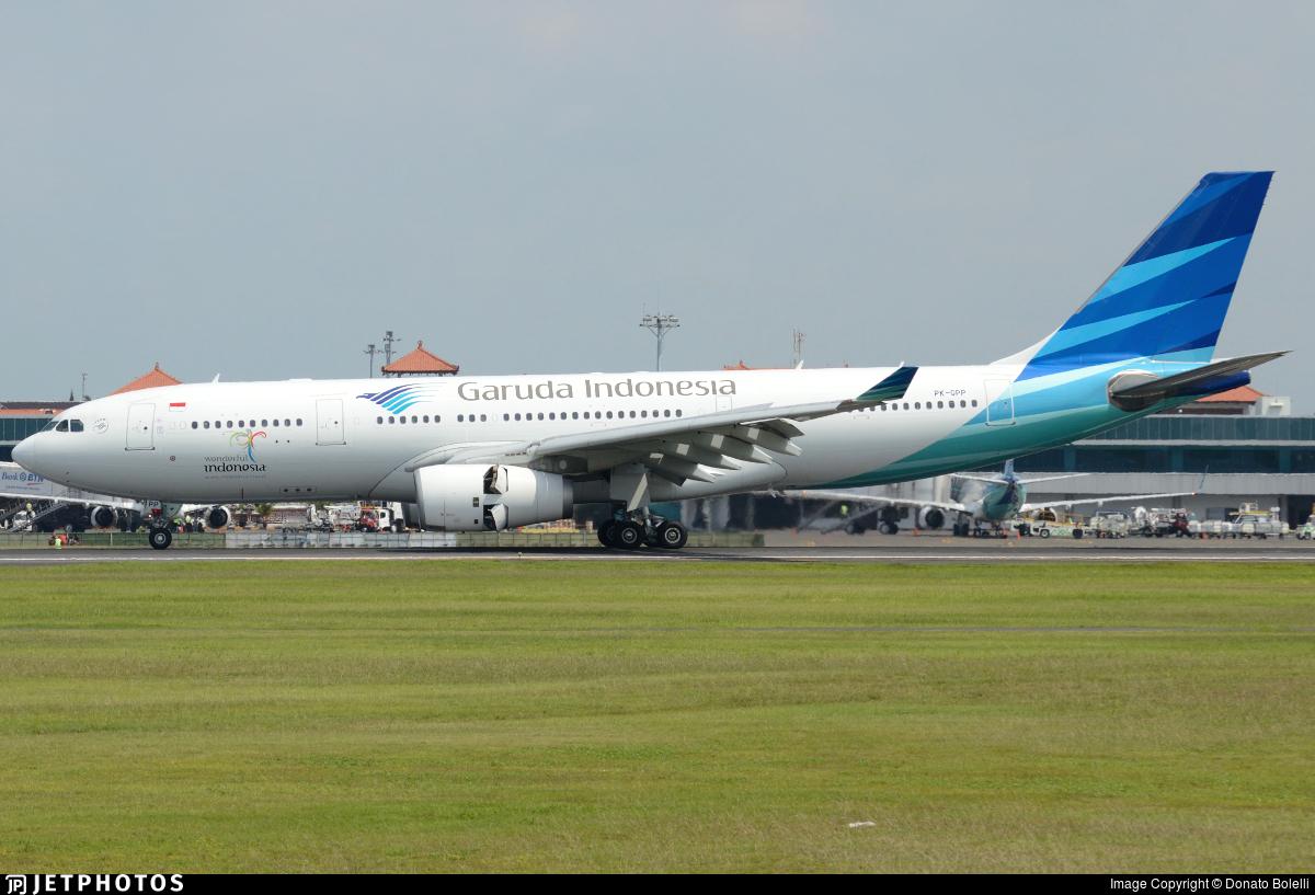 PK-GPP - Airbus A330-243 - Garuda Indonesia
