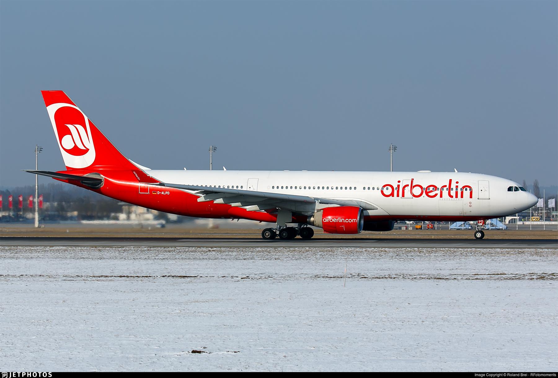D-ALPD - Airbus A330-223 - Air Berlin
