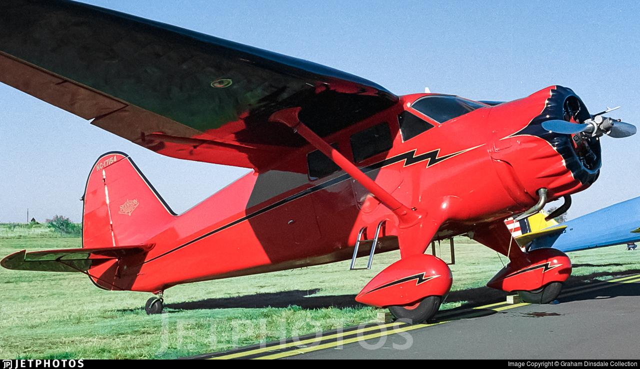 N17154 - Stinson SR-9B Reliant - Private