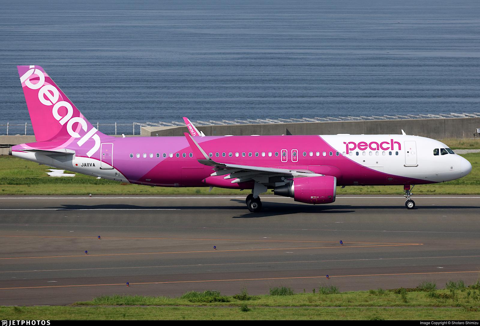 JA11VA - Airbus A320-214 - Peach Aviation