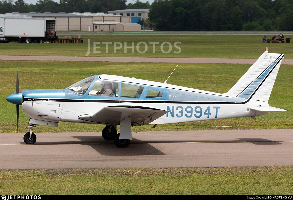 N3994T - Piper PA-28-180 Cherokee Arrow - Private