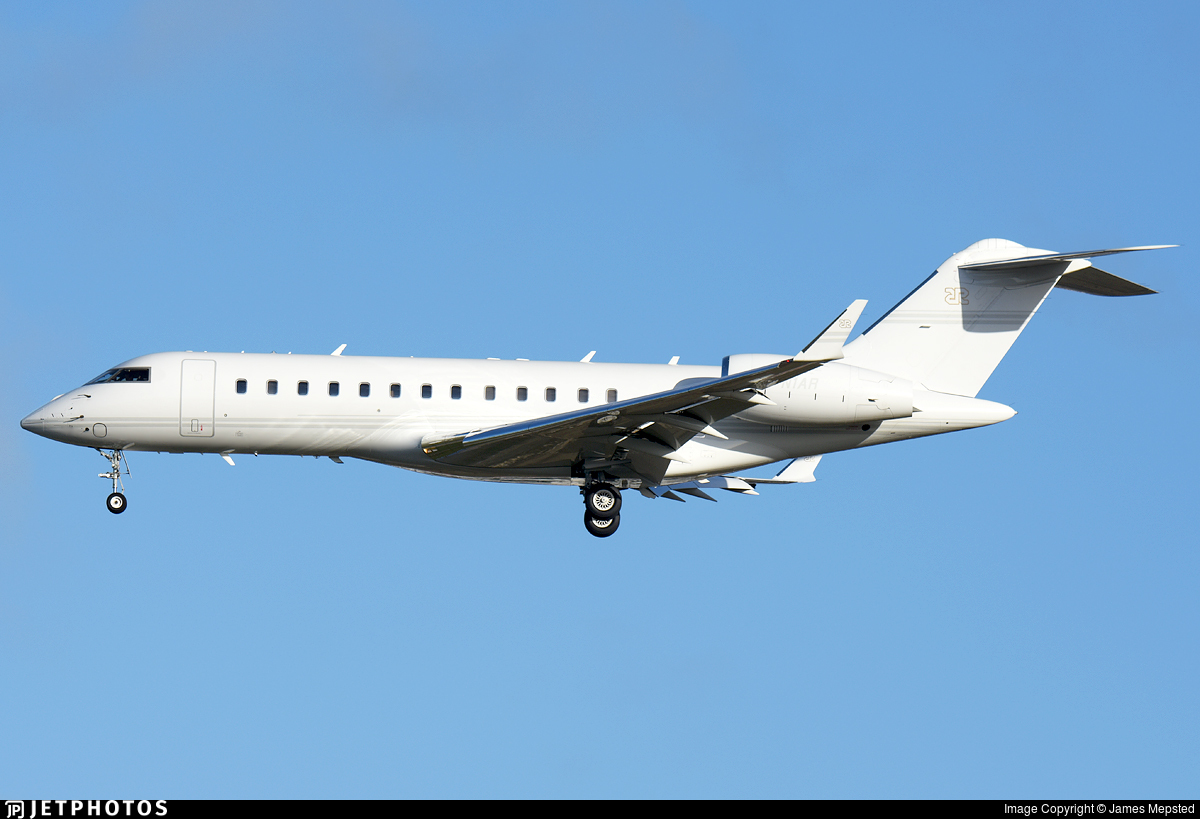 N1AR - Bombardier BD-700-1A10 Global Express - Private