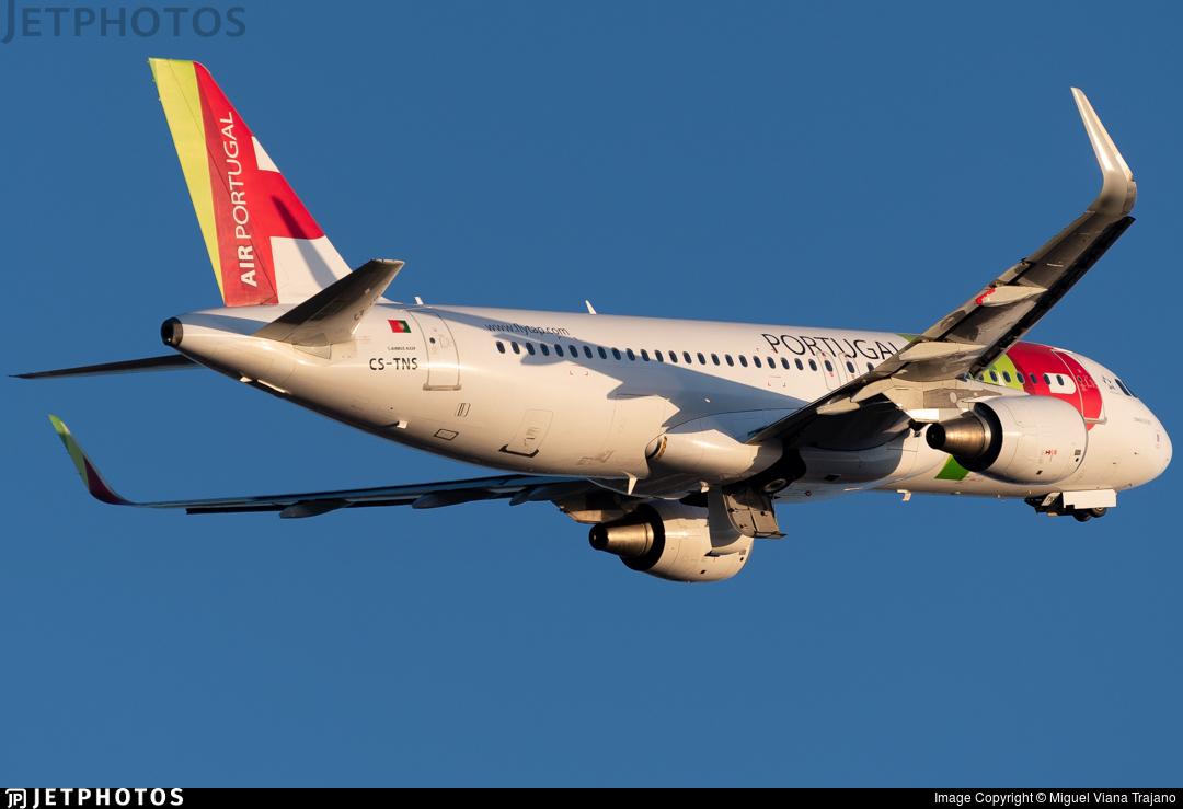 CS-TNS - Airbus A320-214 - TAP Air Portugal