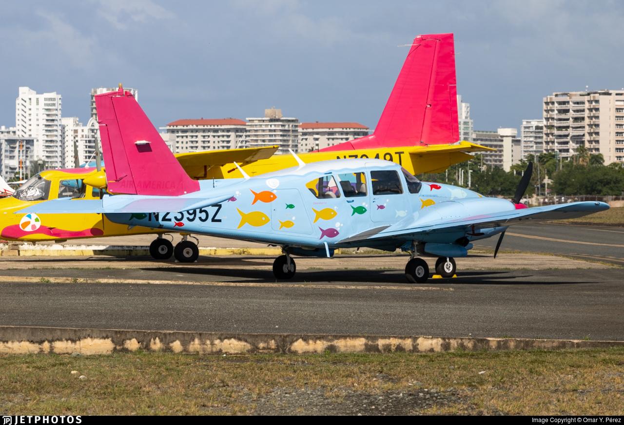 N2395Z - Piper PA-23-250 Aztec F - Air America