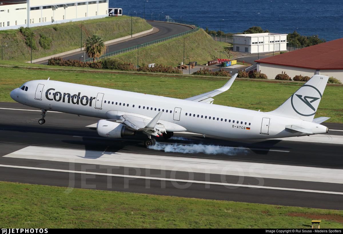 D-ATCG - Airbus A321-211 - Condor