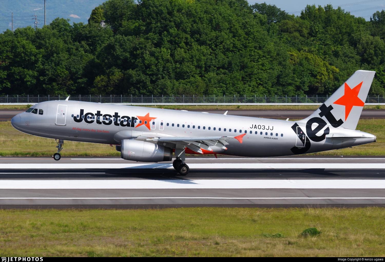 JA03JJ - Airbus A320-232 - Jetstar Japan Airlines