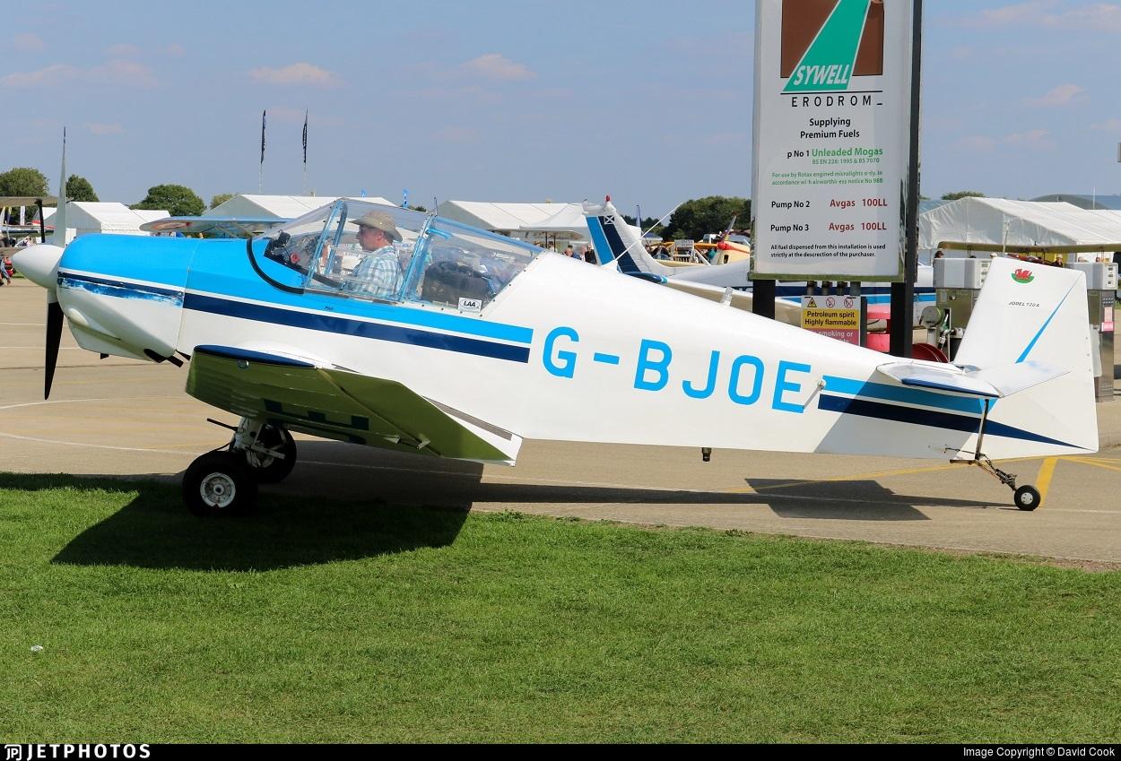 G-BJOE - Jodel D120A Paris-Nice - Private